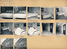 PARIS 1960 - 12 Photos Hôpital Saint Louis - PL 1030