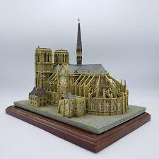 New ListingDanbury Mint Notre Dame Historic Catholic Church Sculpture Replica