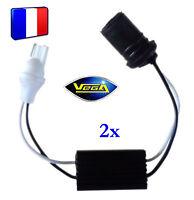 2 modules anti-erreur ODB pour ampoule à leds T10 W5W