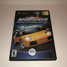 Need for Speed: Hot Pursuit 2 (Microsoft Xbox, 2002) Complete w/ Manual