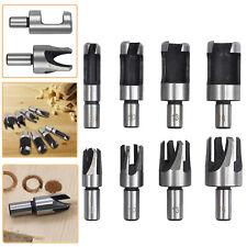 8Pcs Wood Plug Cutter Drill Bit Set Cutting Tool 6/10/13/16mm Woodworking Cork