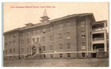 Early 1900s Jennie Edmundson Memorial Hospital, Council Bluffs, Ia Postcard