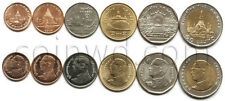 Thailand 6 coins set 2008-2016 Buildings (#3298)