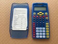 Texas Instruments Ti-15 Scientific Calculator Complete w/Cover Insert