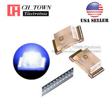 100PCS 0603 (1608) Blue Light SMD SMT LED Diodes Emitting Ultra Bright USA