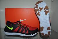 Nike Free Trainer 5.0 V6 719922 670 Mens Running Shoes Black/Red/Volt NIB 🔥👟🔥