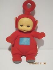 "Teletubbies Talking PO VINTAGE 13"" Plush Doll 1998 PLAYSKOOL RED GREAT CONDITION"