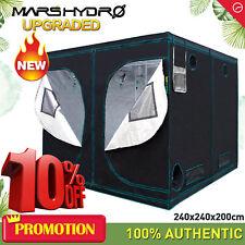 Mars 8'x8'x7' Indoor Grow Tent Room Hydro Home Box Plant Hut Reflective Mylar