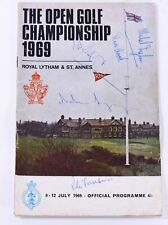 More details for the royal / open championship 1969 official programme