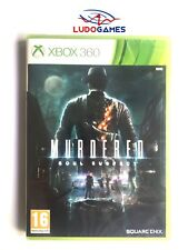 Murdered Soul Suspect Xbox 360 New Sealed Videojuego Retro Sealed Pal / Spa