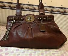 COACH BURGANDY BAG VINTAGE NEW WITH TAGS BLACK FRIDAY SALE