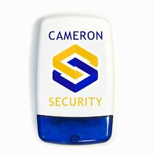 Dummy / Decoy Alarm Bell Box Sounder with screen printed security company logo