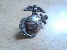 USMC Marine Corps Pin  MADE IN USA Hat Badge Shirt Patch Leather Jacket Vest Tac