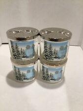 Bath & Body Works Empty Glass Candle Jars With Lids