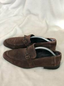 100% AUTHENTIC MOSCHINO MEN Loafers Shoes Suede US 9 495$