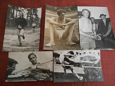 5 PHOTOS DE SPORTS  ( ref 23 )