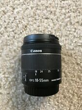Canon EF-S 18-55mm f/4-5.6 IS STM Lens And Free Two Lenses