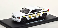 1:43 Greenlight Dodge Charger Pursuit USSS Police 2006 white/black