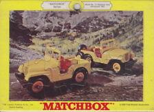 Matchbox RW Puzzle Nr. 72B Standard Jeep 1969 USA