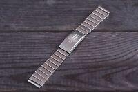 Vintage Elektronika Watch Stainless Steel Soviet Bracelet 150mm 18mm