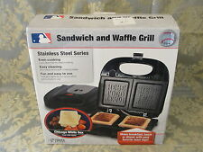 Chicago White Sox Sandwich and Waffle Grill by Pangea Brands Stainless steel NEW