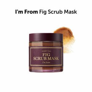 [I'm From] Fig Scrub Mask/ Fig powder 1.2% + Black sugar