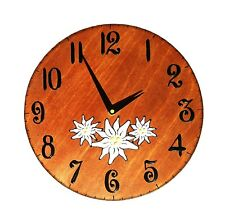 Swiss made wall clock  Wall decoration gift collectible clock