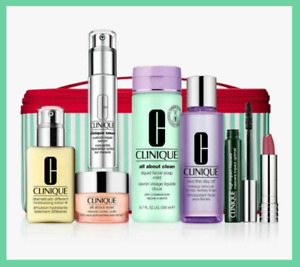 Clinique BEST OF CLINIQUE Skincare Gift Set, 7 Pcs Kit in a Bag - Worth £196