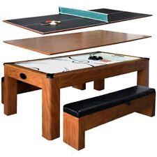 Sherwood NG2422H 7-ft Air Hockey Table w/ Benches