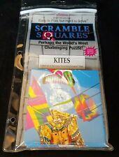Scramble Squares Puzzle Kites Nine Square Puzzle 2008 Plastic Case