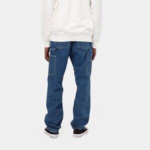 Carhartt WIP Ruck Single Knee Pant Norco Denim 11.25oz, Blue True Stone, W33 L32