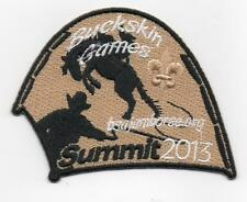 2013 National Jamboree Promo Tent Patch Series, Buckskin Games, Mint!