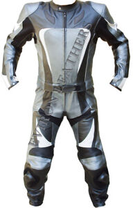 Eviron Motorcycle Motorbike Racing Leather Suit Biker Jacket and Trouser