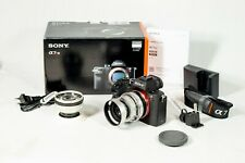 Sony Alpha A7R II 42.4 MP mirrorless W/2 Schnider lens Low shutter count 5421