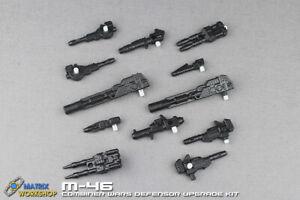 Matrix Workshop M-46 Combination Weapon Upgrade kit For Combiner Wars Defensor