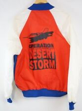 Desert Storm Jacket Vintage Black Sheep Red white Blue Bomber Euc Xl Mens
