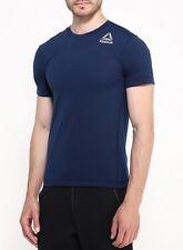 New Men's Reebok CrossFit T-Shirt Top - Navy - Gym Training Fitness