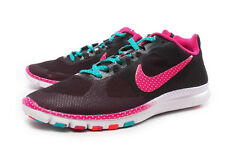 NIKE WOMEN'S FREE ADVANTAGE MSH CAF SHOES SIZE 5.5 black pink crimson 579964 001