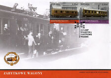 FDC - Railway in Poland - 2007