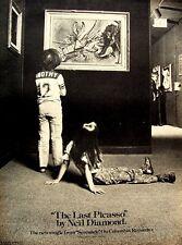 NEIL DIAMOND 1975 POSTER ADVERT THE LAST PICASSO serenade
