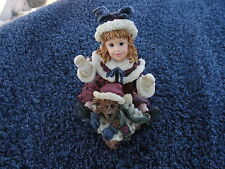 Boyds Bears Yesterday's Child Dollstone Kimberly with Klaus Figurine