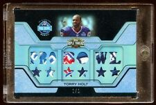 TORRY HOLT 2008 TOPPS 1/1 PRO BOWL JUMBO PATCH LOGO 13X PIECE TRUE 1 OF 1  HOF ?
