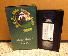 CAMP MUSIC VIDEO various Christian VHS Ohio Family Camp BCF 2000
