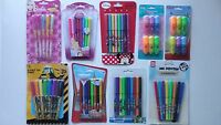 Selection of Gel Pens, Markers, Highlighters or Felt Pens (Choice of 6)