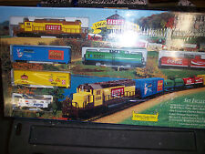 """HO """"THE PRIDE OF MINNESOTA"""" TRAIN SET RAINBOW FOODS # 7340 YOUR HOMETOWN GROCER"""