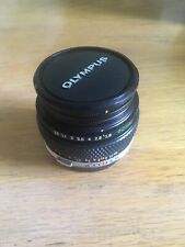 Olympus OM System Zuiko Auto-S f/1.8 50mm Prime Camera Lens - Fits OM Mount