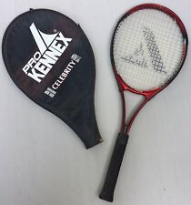 Pro Kennex Tennis Racquet Celebrity 95 Sq In Widebody Maroon with Cover