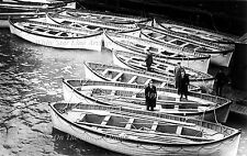 Photo: Rare: Gathered Titanic's Lifeboats In New York, April 19, 1912