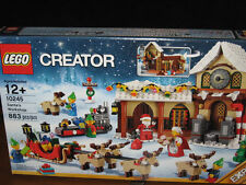 LEGO # 10245 Santas SANTA'S WORKSHOP 883 pc 6 minifigures Holiday CREATOR santa