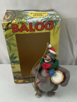 Vintage Disney The Jungle Book Baloo Christmas Ornament Grolier's First Issue